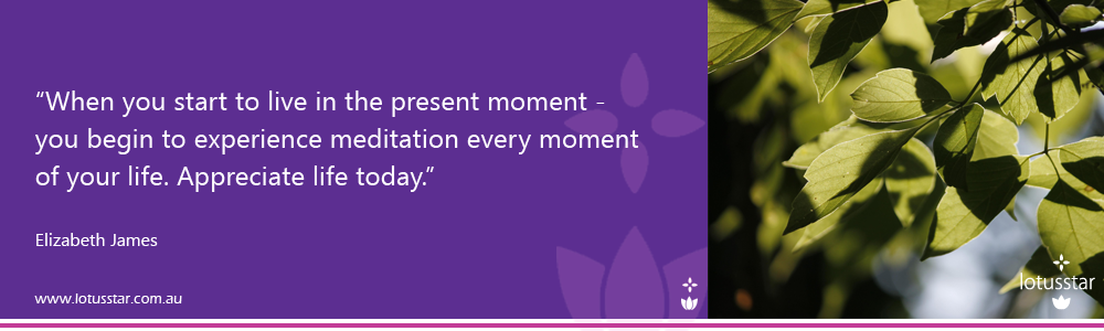 Meditation mindfullness quote E L James