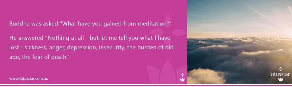 Meditation Buddha quote