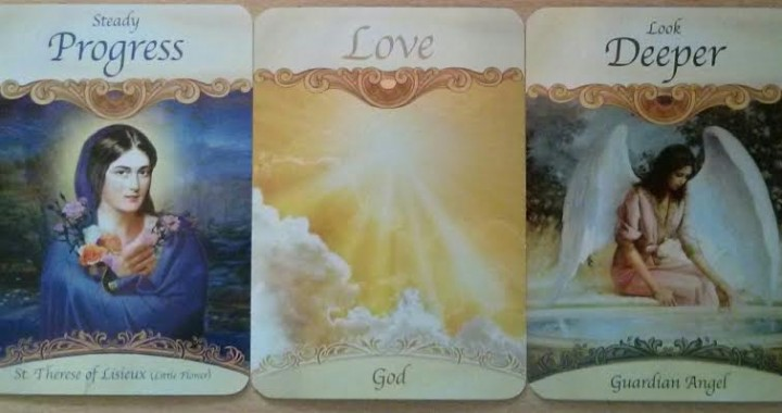 aints and Angels Oracle Cards deck by Doreen Virtue