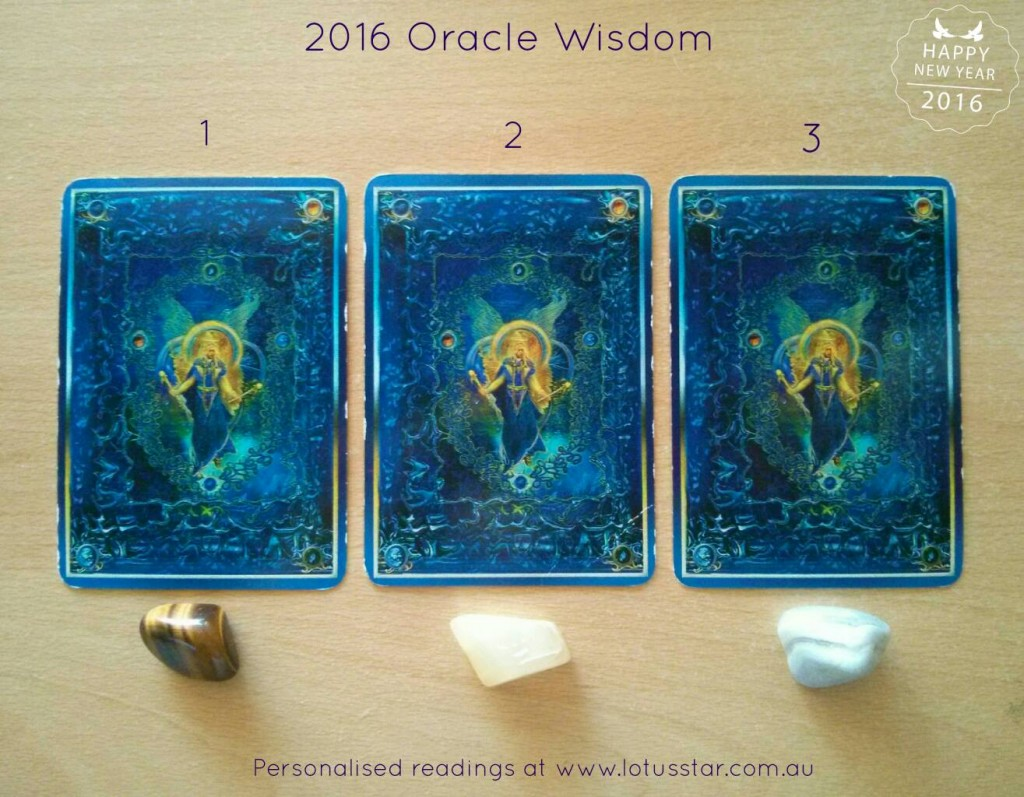 2016 Oracle Wisdom Guidance from Elizabeth L James Lotus Star Embrace Life