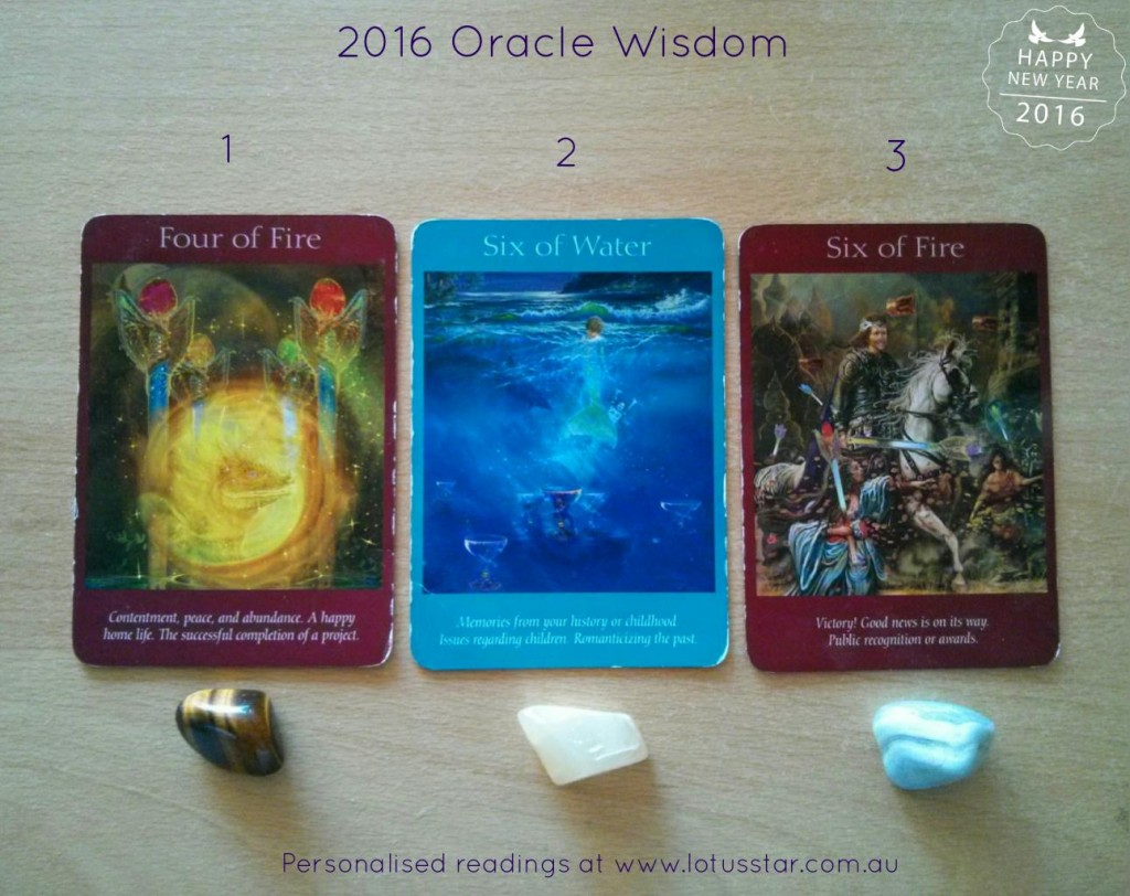 2016 Oracle Wisdom Guidance Reveal from Elizabeth L James Lotus Star Embrace Life