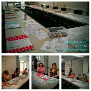 Colour Magic adult colouring in try and share workshop Adelaide
