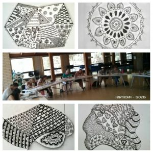 Introduction to Zentangle and ZIA Doodle Art Workshop Adelaide