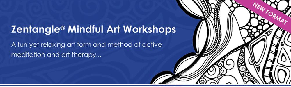 Zentangle and Doodle Art Workshop Mitcham Adelaide