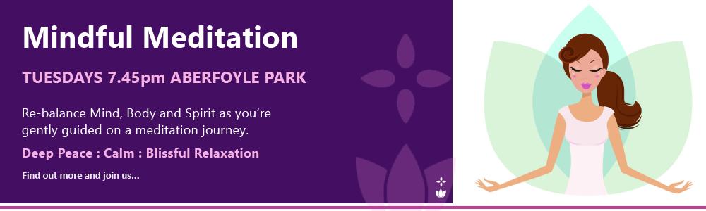 Mindful Meditation Aberfoyle Park Adelaide Tuesday evenings Lotus Star Elizabeth James