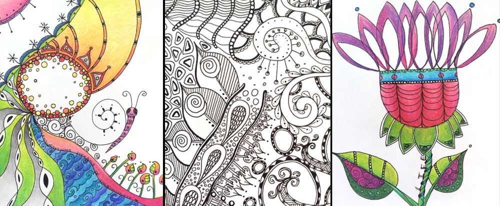 Zentangle Mindful Art Workshop Adelaide