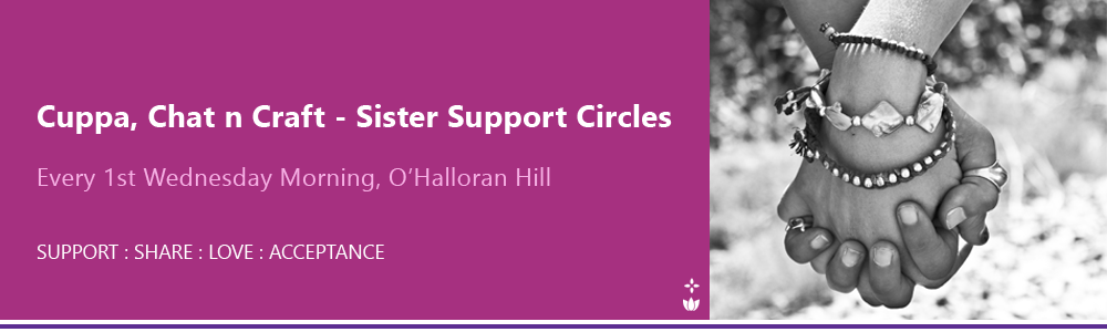 Cuppa Chat n Craft Sister Support Circle Adelaide