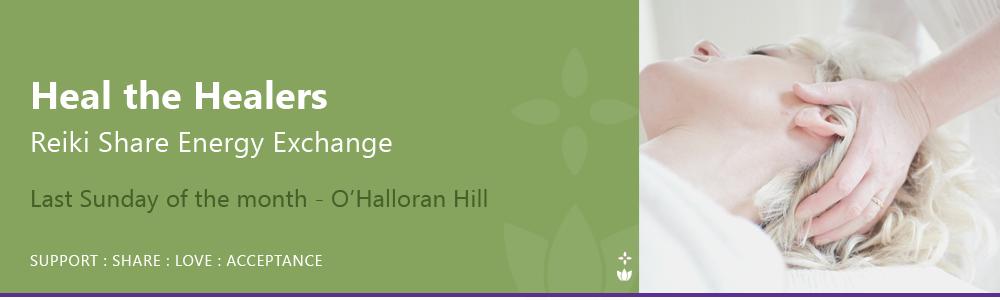 Reiki Share Adelaide Heal the Healers Group Adelaide