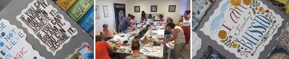 Visionary Vision Board Workshop Adelaide Lotus Star