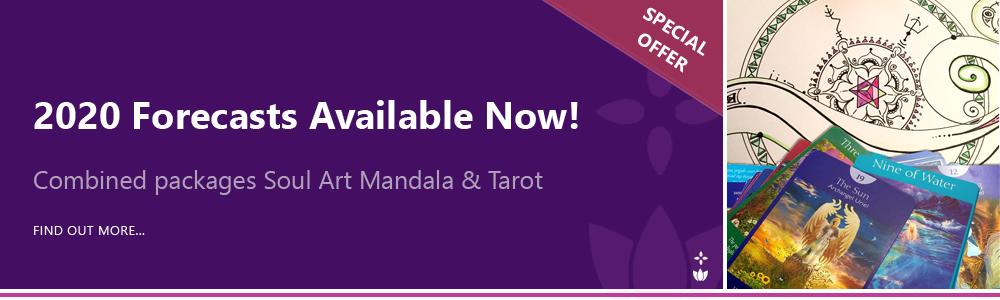 2020 Gift Package Tarot and Soul Art Mandala Readings