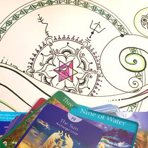 Tarot Soul Art Mandala